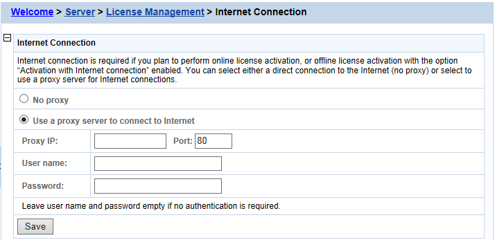 Internet connection (required for proxy server) - - Appeon License